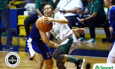 Tiebreaker Times La Salle limits Ateneo to four 4th quarter points, gains head start in Final Four race ADMU Basketball DLSU News UAAP  UAAP Season 81 Women's Basketball UAAP Season 81 Khate Castillo John Flores DLSU Women's Basketball Cholo Villanueva Camille Claro Bettina Binaohan Ateneo Women's Basketball Alyssa Villamor
