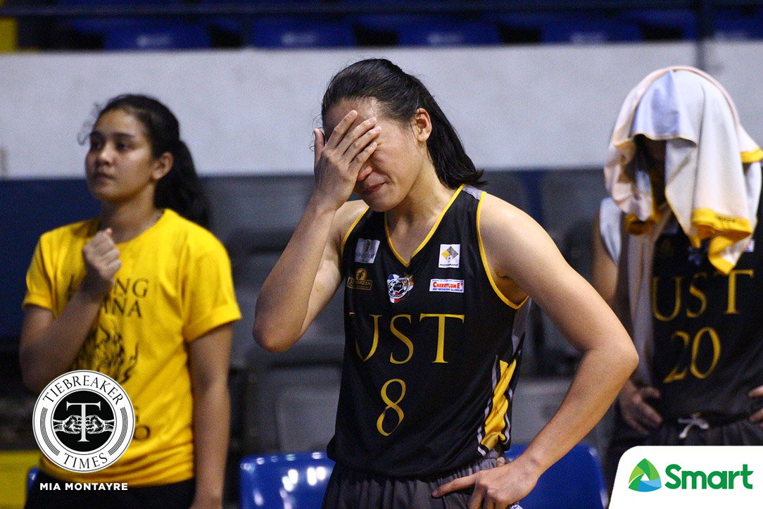 Tiebreaker Times Sai Larosa hopes La Salle game won't be her last one for UST Basketball News UAAP UST  UST Women's Basketball UAAP Season 81 Women's Basketball UAAP Season 81 Sai Larosa