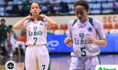 Tiebreaker Times La Salle gains breathing space after cruising past UP Basketball DLSU News UAAP UP  UP Women's Basketball UAAP Season 81 Women's Basketball UAAP Season 81 Therese Medina Lou Ordoveza Kenneth Raval DLSU Women's Basketball Cholo Villanueva Camille Claro