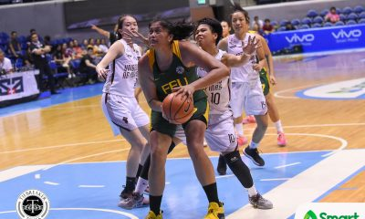 Tiebreaker Times Clare Castro bounces back as FEU clinches Final Four berth Basketball FEU News UAAP UP  Valerie Mamaril UP Women's Basketball UAAP Season 81 Women's Basketball UAAP Season 81 Noella Cruz MJ Beleno Lou Ordoveza Kenneth Raval Gene Amar FEU Women's Basketball fatima quiapo Clare Castro