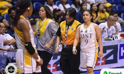 Tiebreaker Times Haydee Ong hopes calls in women's basketball as consistent as men's counterpart Basketball News UAAP UST  UST Women's Basketball UAAP Season 81 Women's Basketball UAAP Season 81 Ruby Portillo Haydee Ong