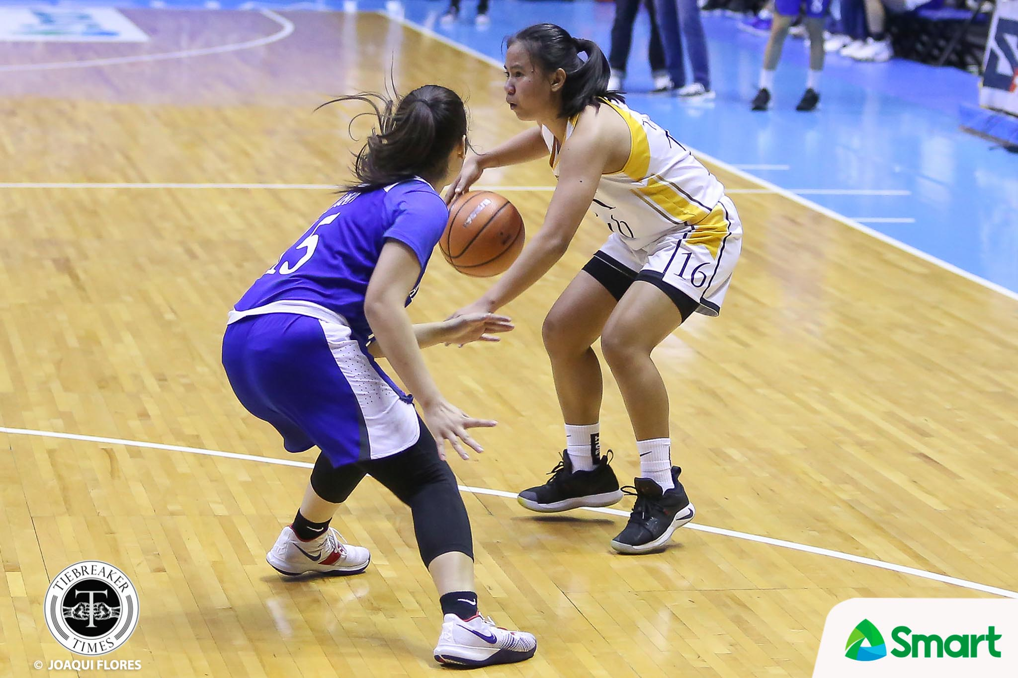 Tiebreaker Times Ana Tacatac knocks down eight triples as UST boots out Ateneo ADMU Basketball News UAAP UST  UST Women's Basketball UAAP Season 81 Women's Basketball UAAP Season 81 Tantoy Ferrer Sai Larosa Jollina Go John Flores Haydee Ong Grace Irebu Ateneo Women's Basketball Ana Tacatac