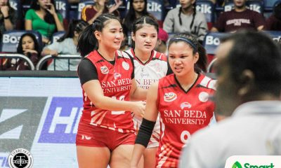 Tiebreaker Times Cesca Racraquin looking to assume more leadership responsibility NCAA News SBC Volleyball  San Beda Women's Volleyball NCAA Season 94 Women's Volleyball NCAA Season 94 Cesca Racraquin