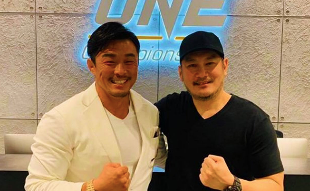 Tiebreaker Times ONE Championship signs Yoshihiro Akiyama Mixed Martial Arts News ONE Championship  Yoshihiro Akiyama Chatri Sityodtong