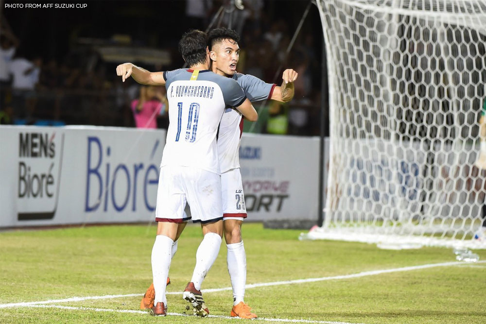 Tiebreaker Times Patrick Reichelt's goal not enough as Philippines suffers semis defeat against Vietnam Football News Philippine Azkals  Vietnam (Football) Sven-Goran Eriksson Phan Van Duc Patrick Reichelt Park Hang Seo Nguyen Anh Duc Michael Falkesgaard Dang Van Lam 2018 AFF Suzuki Cup