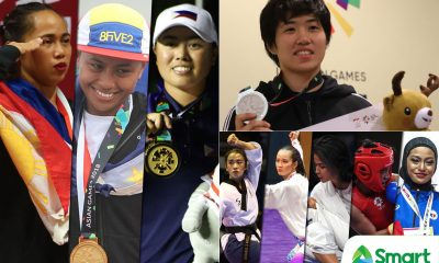 Tiebreaker Times 2018 was the year of the Filipina athlete News  Yuka Saso Rinna Babanto Pauline Lopez Meggie Ochoa Lois Kaye Go Kiyomi Watanabe Juvenile Faye Crisostomo Junna Tsukii Josephine Medina Janna Oliva Janine Pontejos Ian Lariba Hidilyn Diaz Cherry May Regalado Bianca Pagdanganan Agatha Wong Adeline Dumapong-Ancheta
