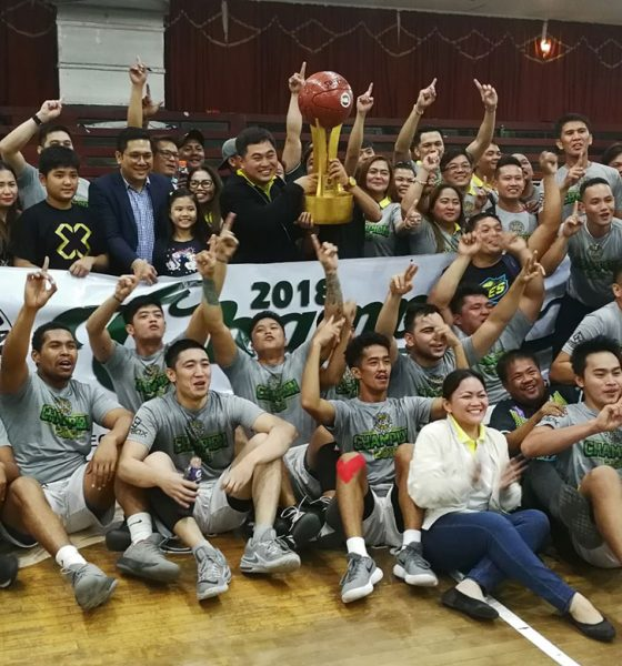 Tiebreaker Times Paranaque Aces outlast Dasmarinas Ballers in 2OT to cop first-ever NBL crown Basketball NBL News  Paranaque Aces Noy Bermudes JR Galit JP Rabe John Catimbuhan Jess Quilatan Harold Sta. Cruz Dasmarinas Ballers 2018 NBL Season