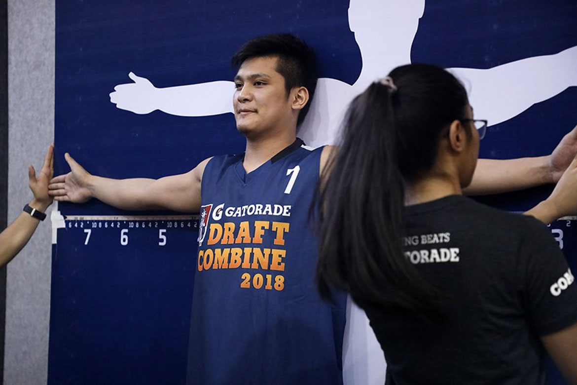 Tiebreaker Times AJ Coronel will not have a hard time looking for a job, says Frankie Lim Basketball News PBA  PBA Season 43 Frankie Lim AJ Coronel 2018 PBA Draft