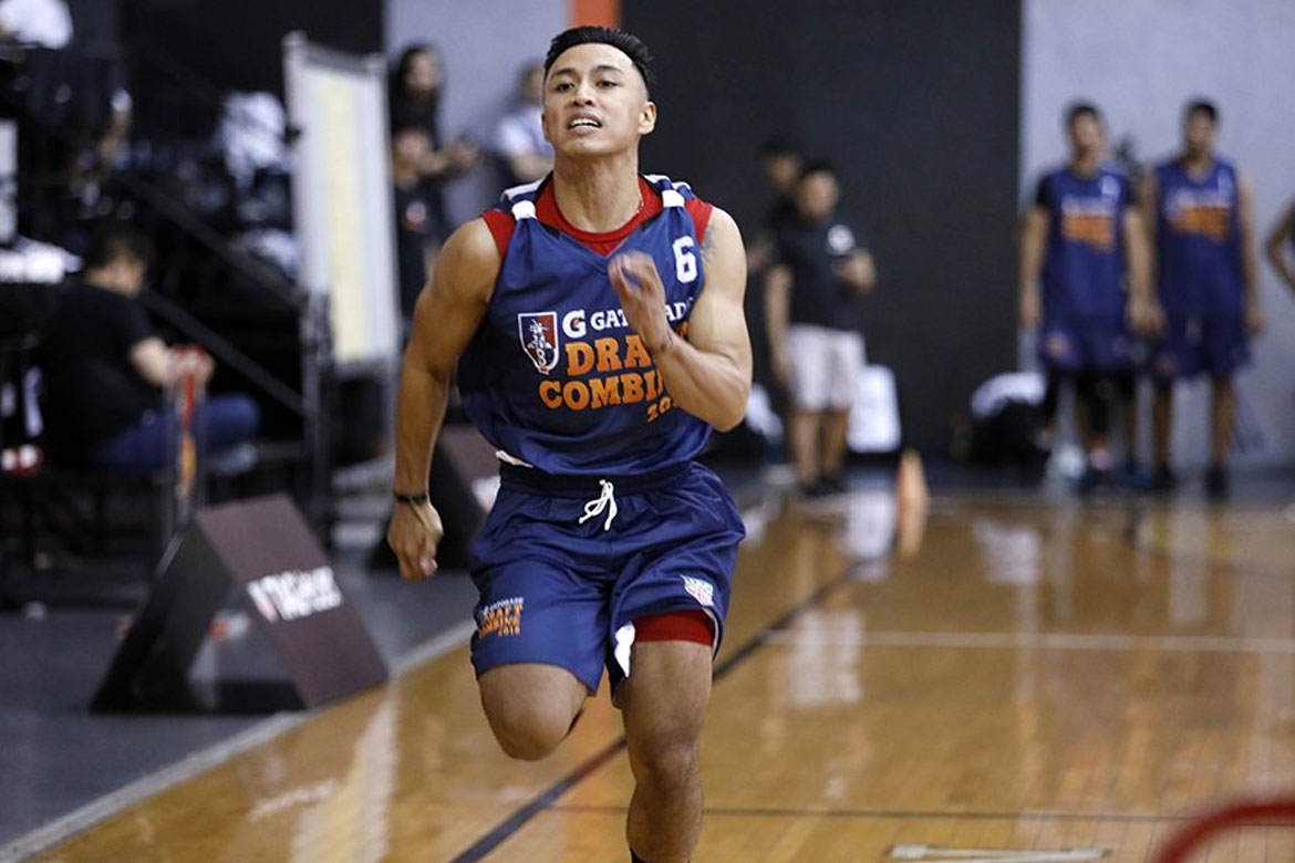 Tiebreaker Times CJ Isit hopes he's earned attention after PBA Draft Combine Basketball News PBA  PBA Season 44 CJ Isit 2018 PBA Draft