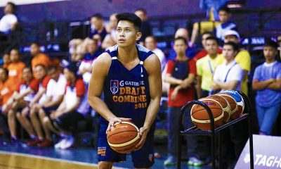 Tiebreaker Times Javee Mocon wishing he could play for his 'childhood hero' Norman Black Basketball News PBA  PBA Season 44 Javee Mocon 2018 PBA Draft