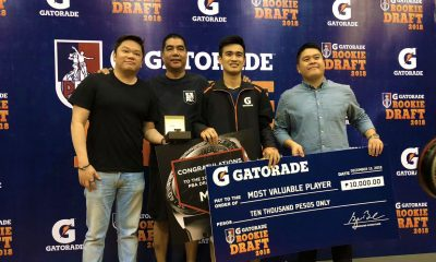 Tiebreaker Times PBA Draft Combine MVP JP Calvo picks up confidence after impressive showing Basketball News PBA  PBA Season 44 JP Calvo 2018 PBA Draft