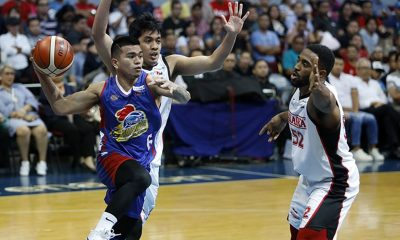 Tiebreaker Times Jio Jalalon inspired by childhood idol Mark Barroca's outing Basketball News PBA  PBA Season 43 Magnolia Hotshots Jio Jalalon 2018 PBA Governors Cup