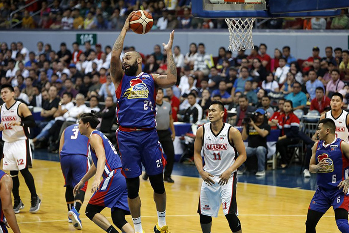 Tiebreaker Times Romeo Travis finally scores first Finals win Basketball News PBA  Romeo Travis PBA Season 43 Magnolia Hotshots 2018 PBA Governors Cup
