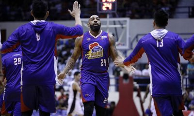 Tiebreaker Times Romeo Travis shakes off ankle sprain, admits third quarter killed Magnolia Basketball News PBA  Romeo Travis PBA Season 43 Magnolia Hotshots 2018 PBA Governors Cup