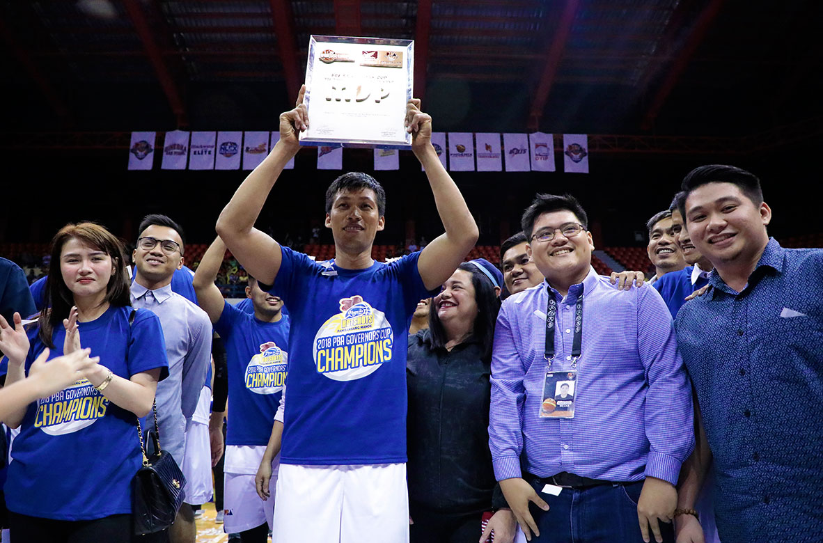 Tiebreaker Times Mark Barroca bags second Finals MVP honors Basketball News PBA  PBA Season 43 Mark Barroca Magnolia Hotshots 2018 PBA Governors Cup