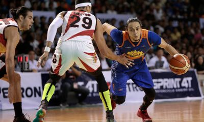 Tiebreaker Times Leo Austria keeps mum on Terrence Romeo trade as San Miguel offers 2 role players, 2 picks Basketball News PBA  Terrence Romeo San Miguel Beermen PBA Season 44 Leo Austria