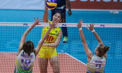 Tiebreaker Times F2 Logistics eliminates Cocolife, sets up showdown with Generika-Ayala News PSL Volleyball  Sherwin Meneses Ramil De Jesus Majoy Baron Kim Fajardo Kalei Mau F2 Logistcs Cargo Movers Dawn Macandili Cocolife Asset Managers Cha Cruz 2018 PSL Season 2018 PSL All Filipino Conference