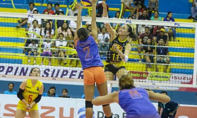 Tiebreaker Times Gritty Generika-Ayala brought out best in F2 Logistics News PSL Volleyball  Ramil De Jesus Kim Fajardo F2 Logistics Cargo Movers Cha Cruz 2018 PSL Season 2018 PSL All Filipino Conference