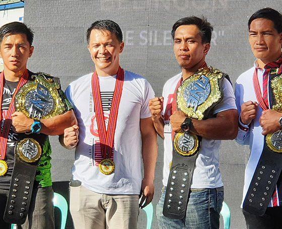 Tiebreaker Times Baguio honors Team Lakay with Champions Parade Mixed Martial Arts News ONE Championship  Team Lakay Stephen Loman Kevin Belingon Joshua Pacio Geje Eustaquio Eduard Folayang