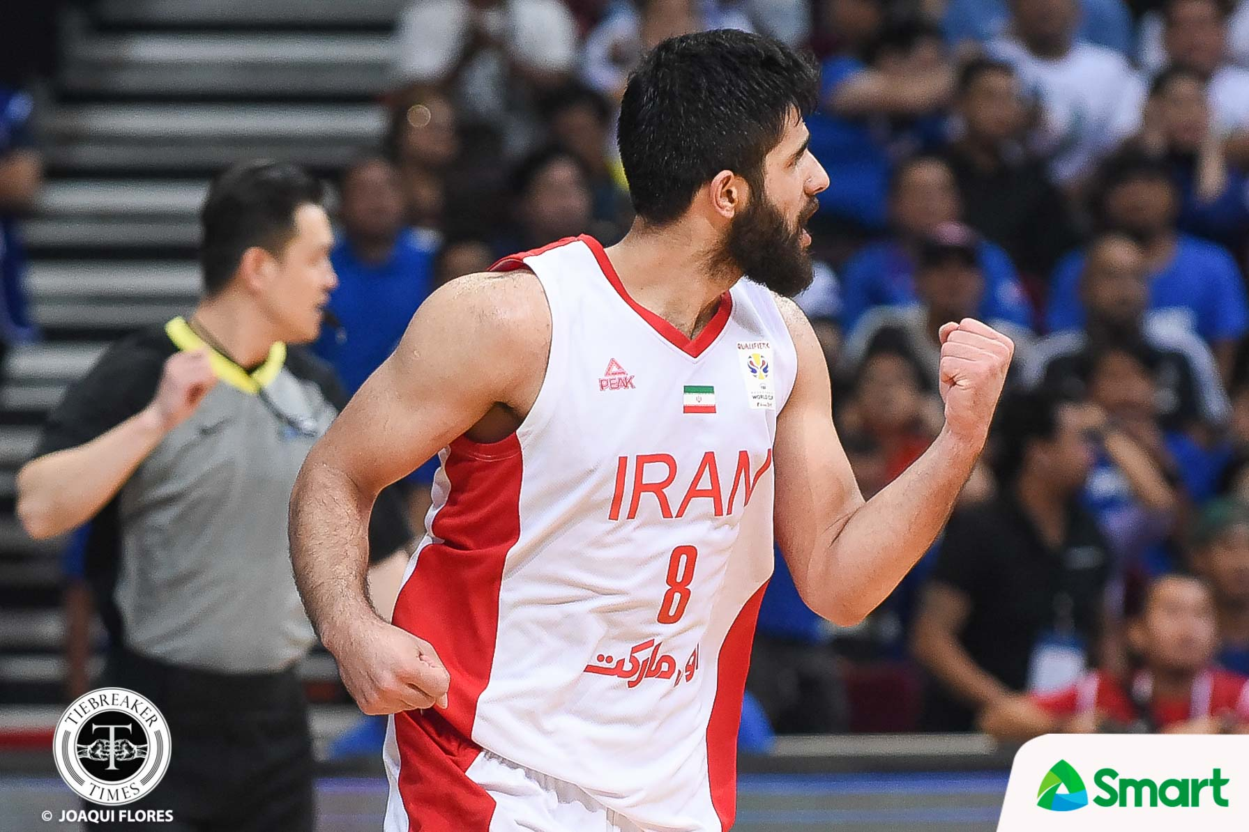 Tiebreaker Times Gilas silenced by Iran, drops to 4th 2019 FIBA World Cup Qualifiers Basketball Gilas Pilipinas News  Yeng Guiao Mohammad Jamshidi Meisam Mirzaei Mehran Shahintab Marcio Lassiter Jayson Castro Iran (Basketball) Gilas Elite Christian Standhardinger Behnam Yakhchali 2019 FIBA World Cup Qualifiers