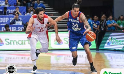 Tiebreaker Times Christian Standhardinger suggests bringing FIBA refs to prep for 6th window 2019 FIBA World Cup Qualifiers Basketball Gilas Pilipinas News  Gilas Elite Christian Standhardinger 2019 FIBA World Cup Qualifiers