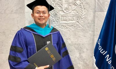 Tiebreaker Times TBT co-owner earns Sports Management Master's degree in Seoul National News  Salvador Reyes Jr. Ateneo Men's Judo