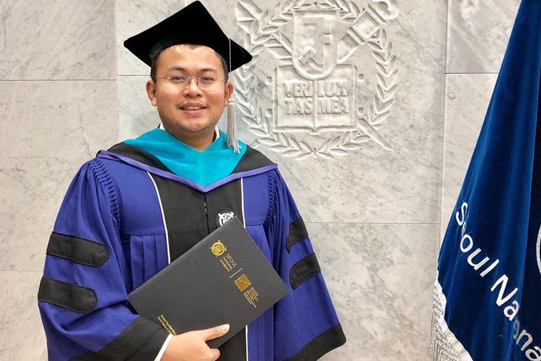 Tiebreaker Times TBT co-owner earns Sports Management Master's degree in Seoul National News  Salvador Reyes Jr. Ateneo Men's Judo