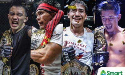Tiebreaker Times 2018 was the year of Team Lakay Mixed Martial Arts News ONE Championship  Team Lakay Mark Sangiao Kevin Belingon Joshua Pacio Geje Eustaquio Eduard Folayang