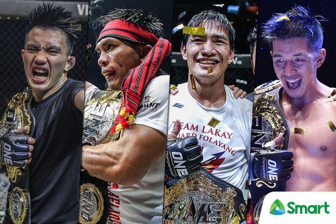 Tiebreaker Times 2018 was the year of Team Lakay Mixed Martial Arts News ONE Championship  Team Lakay Mark Sangiao Kevin Belingon Joshua Pacio Geje Eustaquio Eduard Folayang