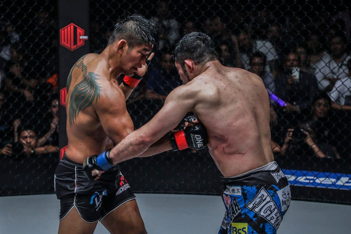 Tiebreaker Times Aung La N Sang-Ken Hasegawa bout tops ONE's 2018 list Mixed Martial Arts News ONE Championship  ONE: Spirit of a Warrior Ken Hasegawa Aung La N Sang