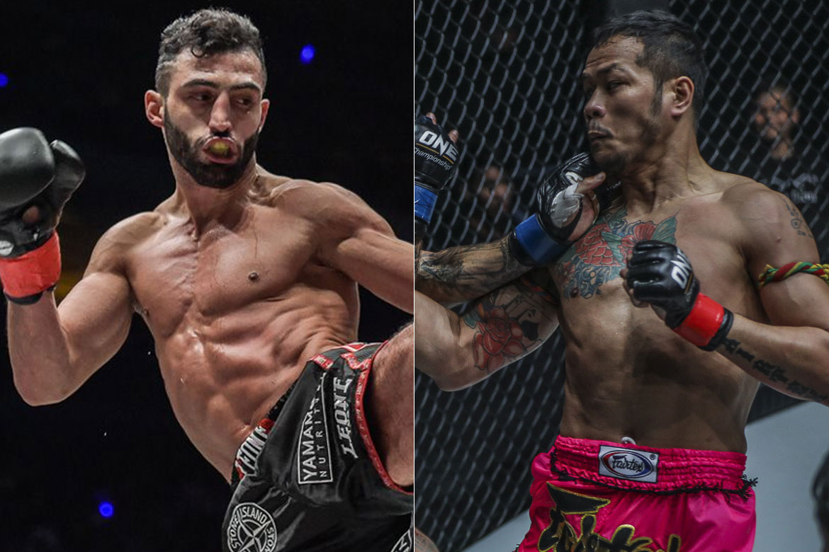 Tiebreaker Times 8 of the world's finest to compete in ONE Featherweight Kickboxing GP Kickboxing News ONE Championship  Yodsanklai IWE Fairtex Samy Sana Petchmorrakot Petchyindee Academy Jo Nattawut Giorgio Petrosyan Dzhabar Askerov Charlie Peters Andy Souwer 2019 ONE Super Series Feathweight Grand Prix