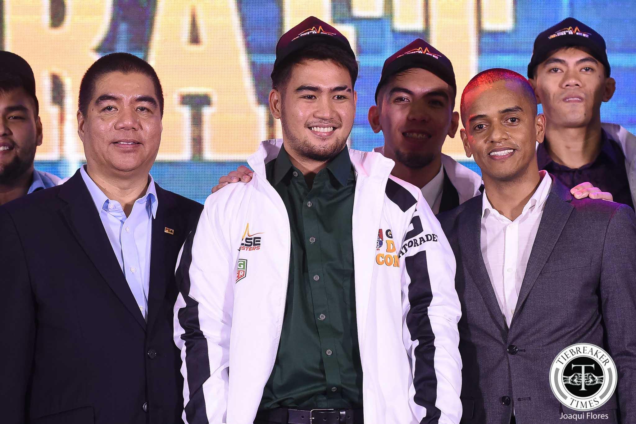 PBA-Draft-Cinco-9128 Change in PBA Draft leads to entertaining event Basketball News PBA  - philippine sports news