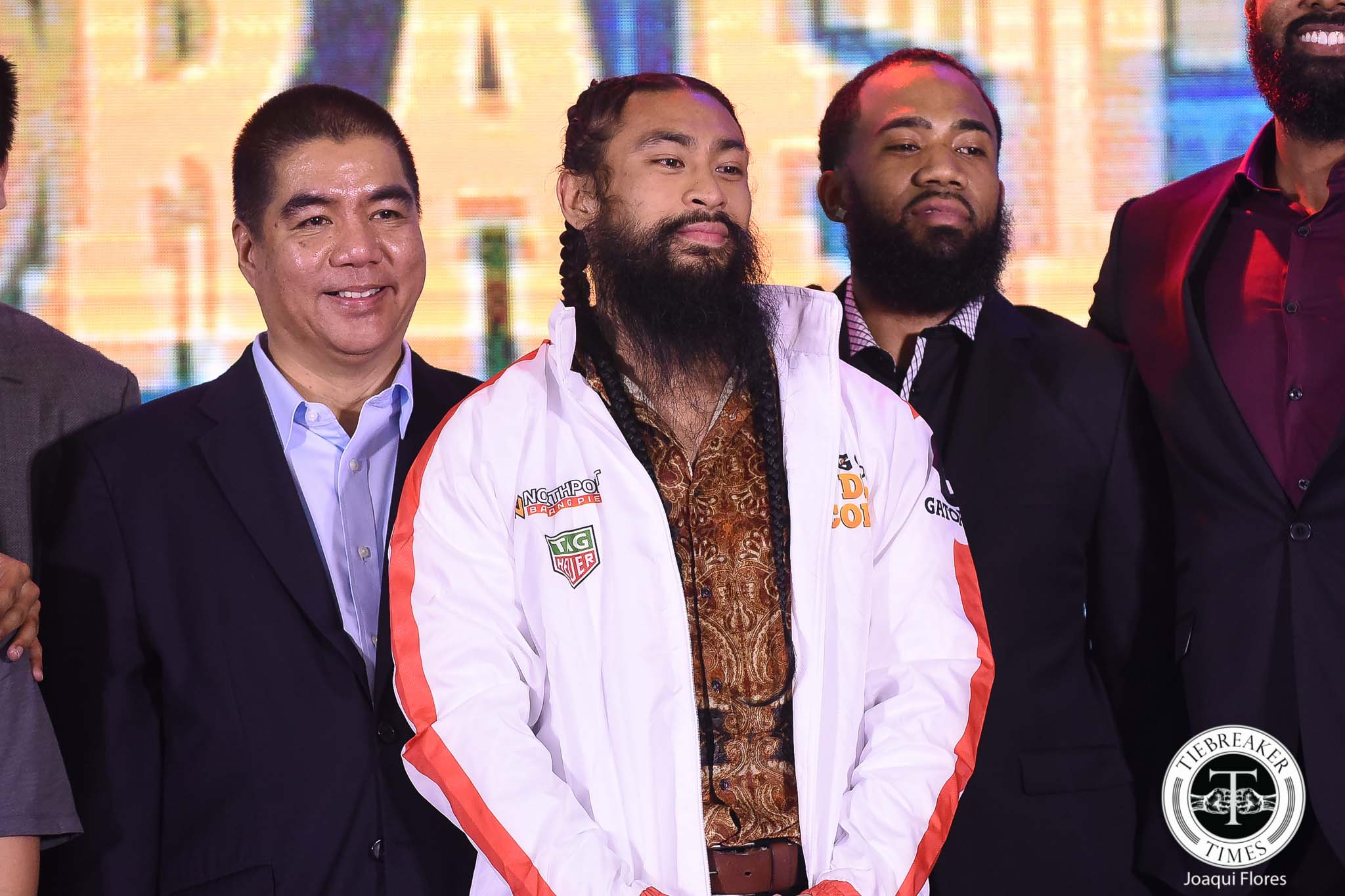 Tiebreaker Times Change in PBA Draft leads to entertaining event Basketball News PBA  Yeng Guiao Willie Marcial Stanley Pringle Richard del Rosario Phoenix Fuel Masters PBA Season 44 Northport Batang Pier NLEX Road Warriors Mo Tautuaa Jason Perkins Barangay Ginebra San Miguel Art dela Cruz 2018 PBA Draft