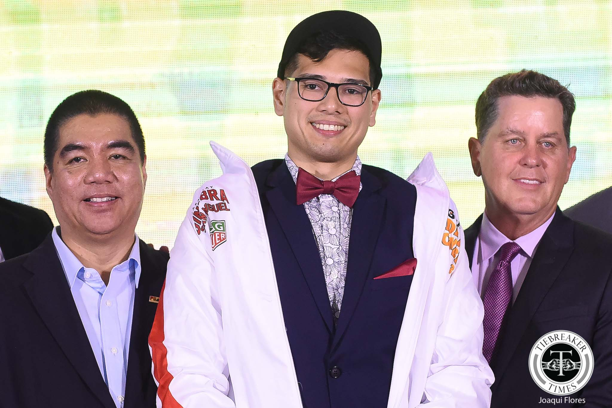 Tiebreaker Times Third round pick a blessing in disguise for Ginebra's Matt Salem Basketball News PBA  PBA Season 44 Matt Salem Barangay Ginebra San Miguel 2018 PBA Draft
