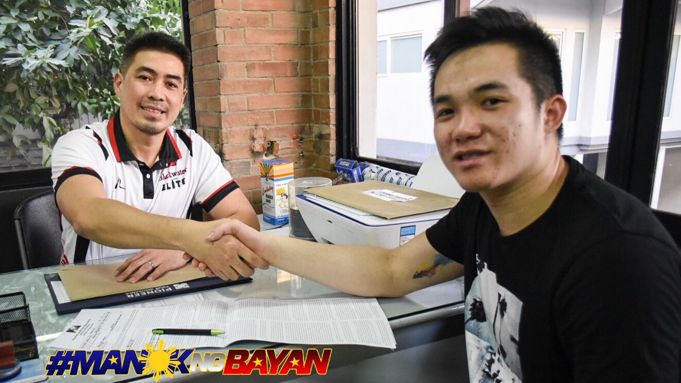 Tiebreaker Times Paul Desiderio, Abu Tratter sign max contracts with Blackwater Basketball News PBA  PBA Transactions PBA Season 44 Paul Desiderio Joel Co Diego Dario Blackwater Elite Abu Tratter