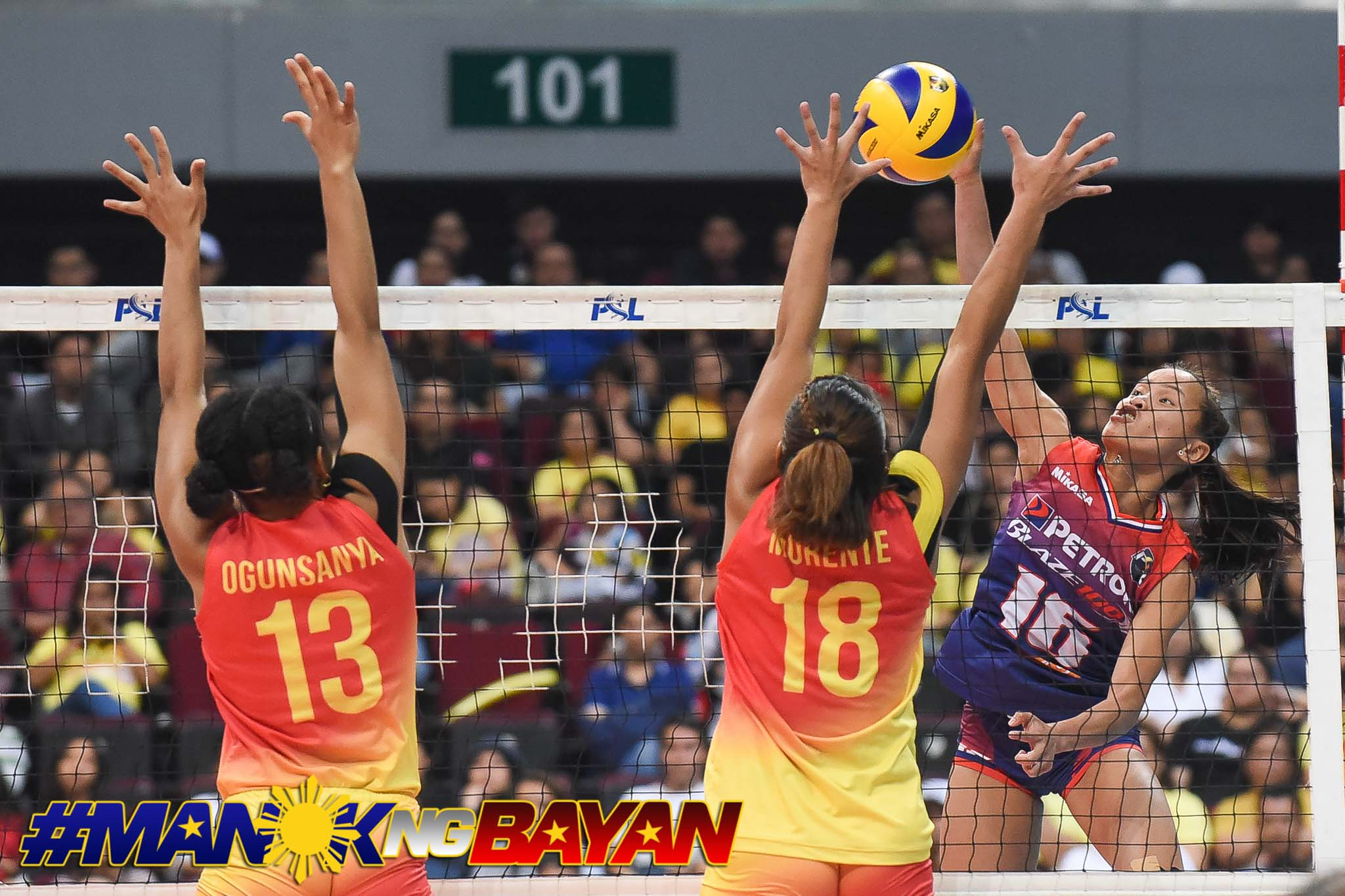 Tiebreaker Times Petron's resbak Sisi Rondina proves crucial in Game One News PSL Volleyball  Petron Blaze Spikers Cherry Rondina 2018 PSL Season 2018 PSL All Filipino Conference