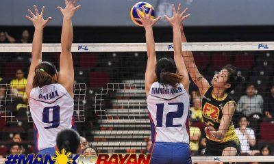 Tiebreaker Times 13-1: F2 Logistics cracks Petron puzzle, forces winner-take-all News PSL Volleyball  Sisi Rondina Shaq delos Santos Remy Palma Ramil De Jesus Petron Blaze Spikers Majoy Baron Kim Fajardo F2 Logistics Cargo Movers Dawn Macandili Cha Cruz Ara Galang 2018 PSL Season 2018 PSL All Filipino Conference