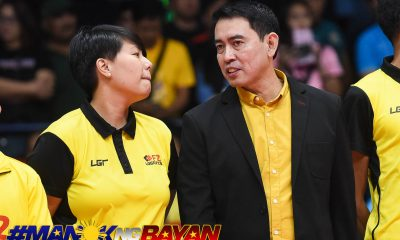 Tiebreaker Times Ramil De Jesus looks to coach PSL Grand Prix, UAAP simultaneously DLSU News PSL UAAP Volleyball  UAAP Season 81 Women's Volleyball UAAP Season 81 Ramil De Jesus F2 Logistics Cargo Movers DLSU Women's Volleyball 2019 PSL Season 2019 PSL Grand Prix