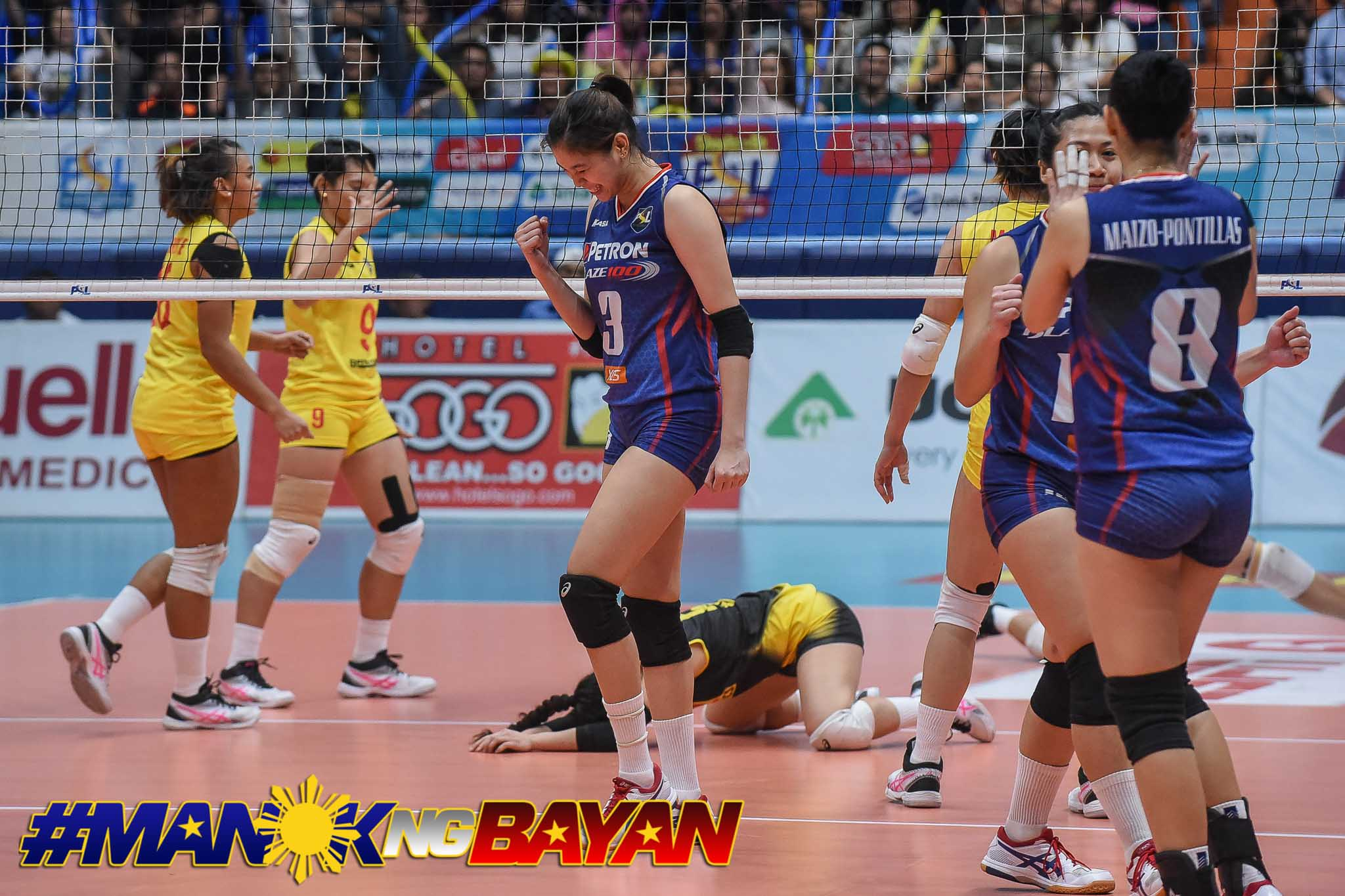 PSL-AFC-Finals-G3-F2-vs.-Petron-Reyes-0317 Mika Reyes savors All-Filipino title defense News PSL Volleyball  - philippine sports news
