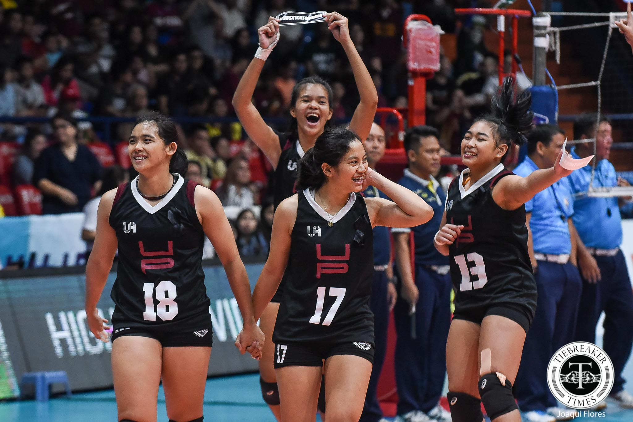 Tiebreaker Times Tots Carlos finally gets her championship moment News PSL Volleyball  UP Women's Volleyball Tots Carlos 2018 PSL Season 2018 PSL Collegiate Grand Slam