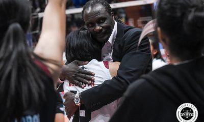 Tiebreaker Times UAI withdraws support to UP Lady Maroons due to Okumu News UP Volleyball  UP Women's Volleyball United Auctioneers-UP Lady Maroons Rommel Sytin