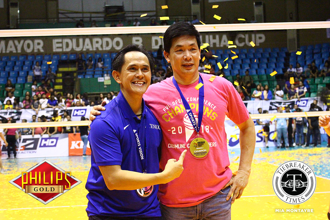 Tiebreaker Times The tiny miracles of Creamline's two championships News PVL Volleyball  Jia Morado Creamline Cool Smashers Alyssa Valdez 2018 PVL Season 2018 PVL Open Conference