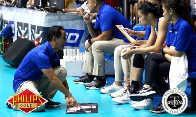 Tiebreaker Times Oliver Almadro expects less pressured Lady Eagles for do-or-die Game Two ADMU News PVL Volleyball  oiver almadro Ateneo-Motolite Lady Eagles 2018 PVL Season 2018 PVL Open Conference