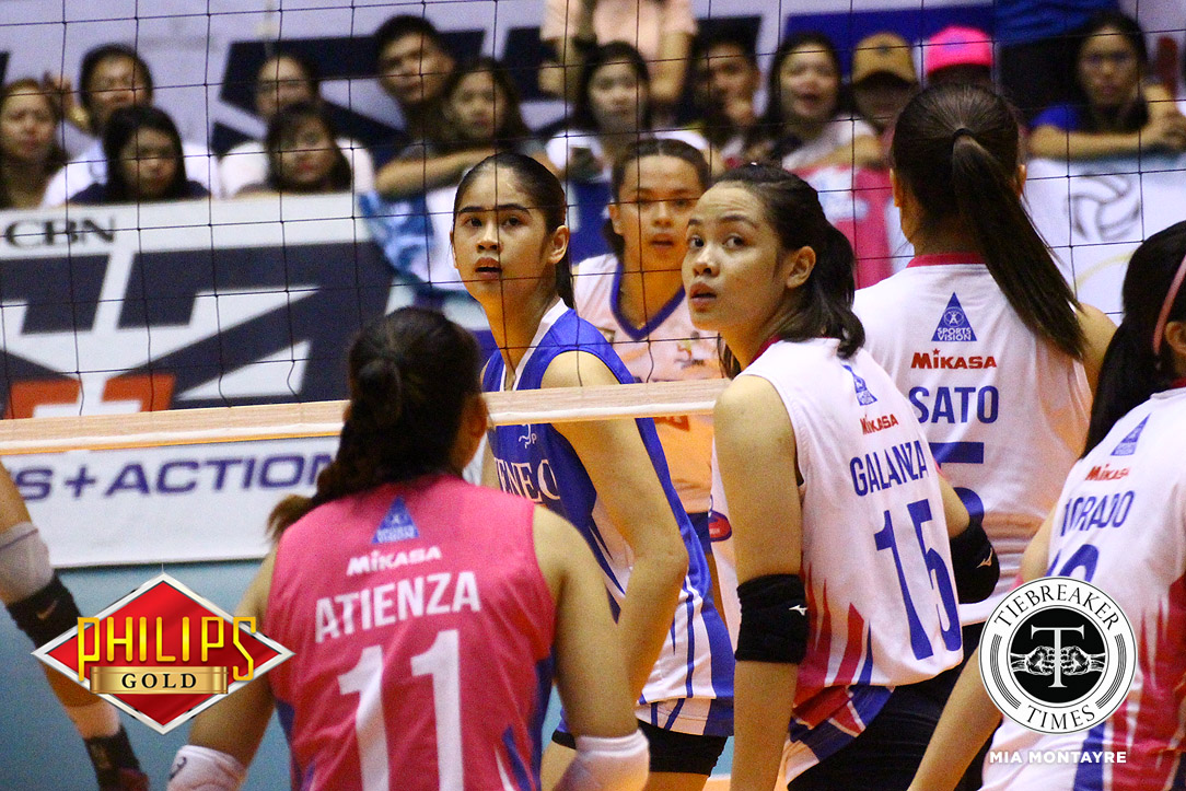Tiebreaker Times Deanna Wong, Jema Galanza treasure Finals experience ADMU News PVL Volleyball  Jema Galanza Deanna Wong Creamline Cool Smashers Ateneo-Motolite Lady Eagles 2018 PVL Season 2018 PVL Open Conference