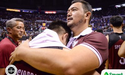Tiebreaker Times Bo Perasol gives impassioned speech to UP: 'They are proud of you!' Basketball News UAAP UP  UP Men's Basketball UAAP Season 81 Men's Basketball UAAP Season 81 Bo Perasol
