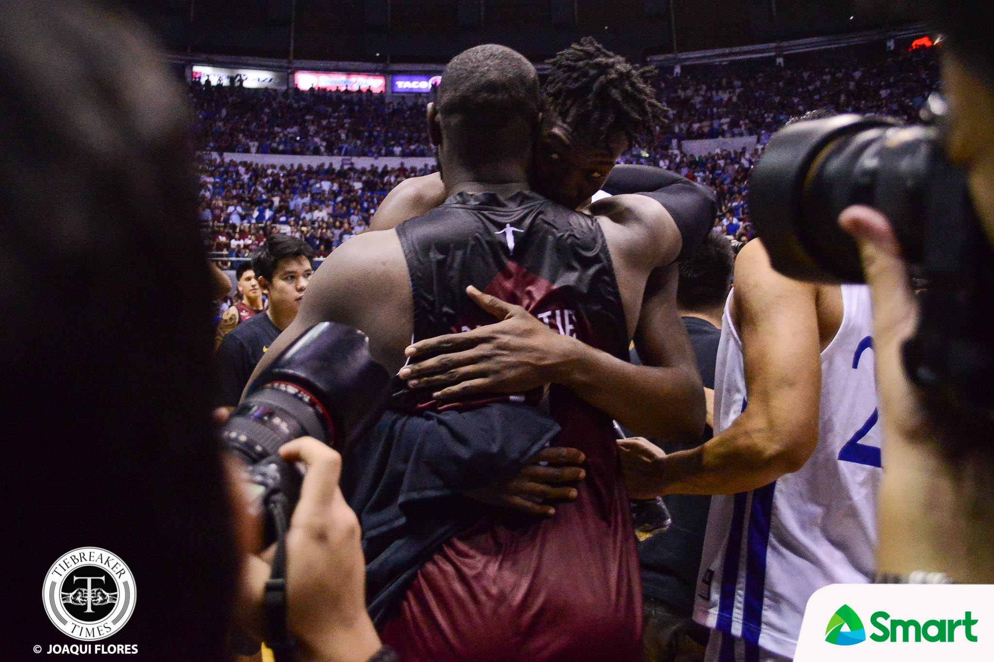 Tiebreaker Times Angelo Kouame motivated by Bright Akhuetie: 'He is like an older brother to me' ADMU Basketball News UAAP  UAAP Season 81 Men's Basketball UAAP Season 81 Bright Akhuetie Ateneo Men's Basketball Angelo Kouame