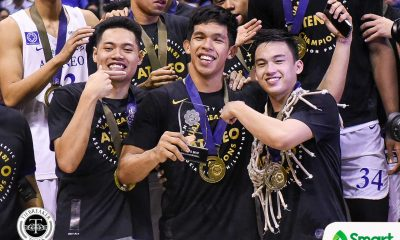 Tiebreaker Times Thirdy Ravena cops back-to-back Finals MVP plum ADMU Basketball News UAAP  UAAP Season 81 Men's Basketball UAAP Season 81 Thirdy Ravena Ateneo Men's Basketball