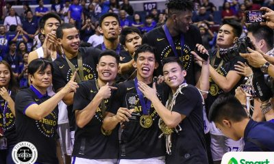 Tiebreaker Times Thirdy Ravena to be hailed as Collegiate Basketball's star of stars ADMU Basketball NCAA News UAAP  Thirdy Ravena Chooks-to-Go 2019 Collegiate Sports Awards