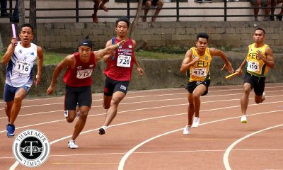 Tiebreaker Times Records go down as UP-FEU battle for title heats up ADMU AdU DLSU FEU News NU Track & Field UAAP UE UP UST  UST Tracksters UP Tracksters UE Tracksters UAAP Season 81 Men's Track and Field UAAP Season 81 Ronnie Malipay Rejohn Cliff Gadian NU Tracksters Leonel Tigtig Joyme Sequita Jovanie Kasi Jomar Udtohan JC Yuzon James Orduna Jaime Mejia Henry Gonzales FEU Tracksters DLSU Tracksters Ateneo Tracksters Adamson Tracksters
