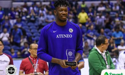 Tiebreaker Times How did Angelo Kouame become the first-ever foreign Rookie of the Year? ADMU Basketball News UAAP  UAAP Season 81 Men's Basketball UAAP Season 81 Angelo Kouame